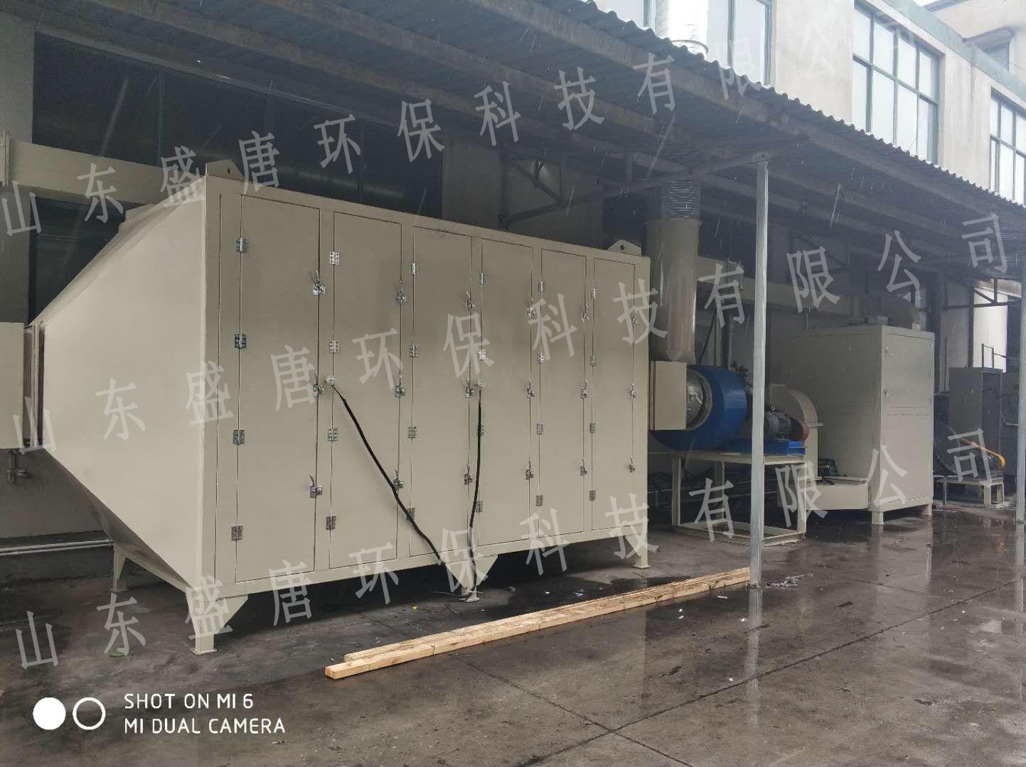 上海催化燃烧废气处理项目